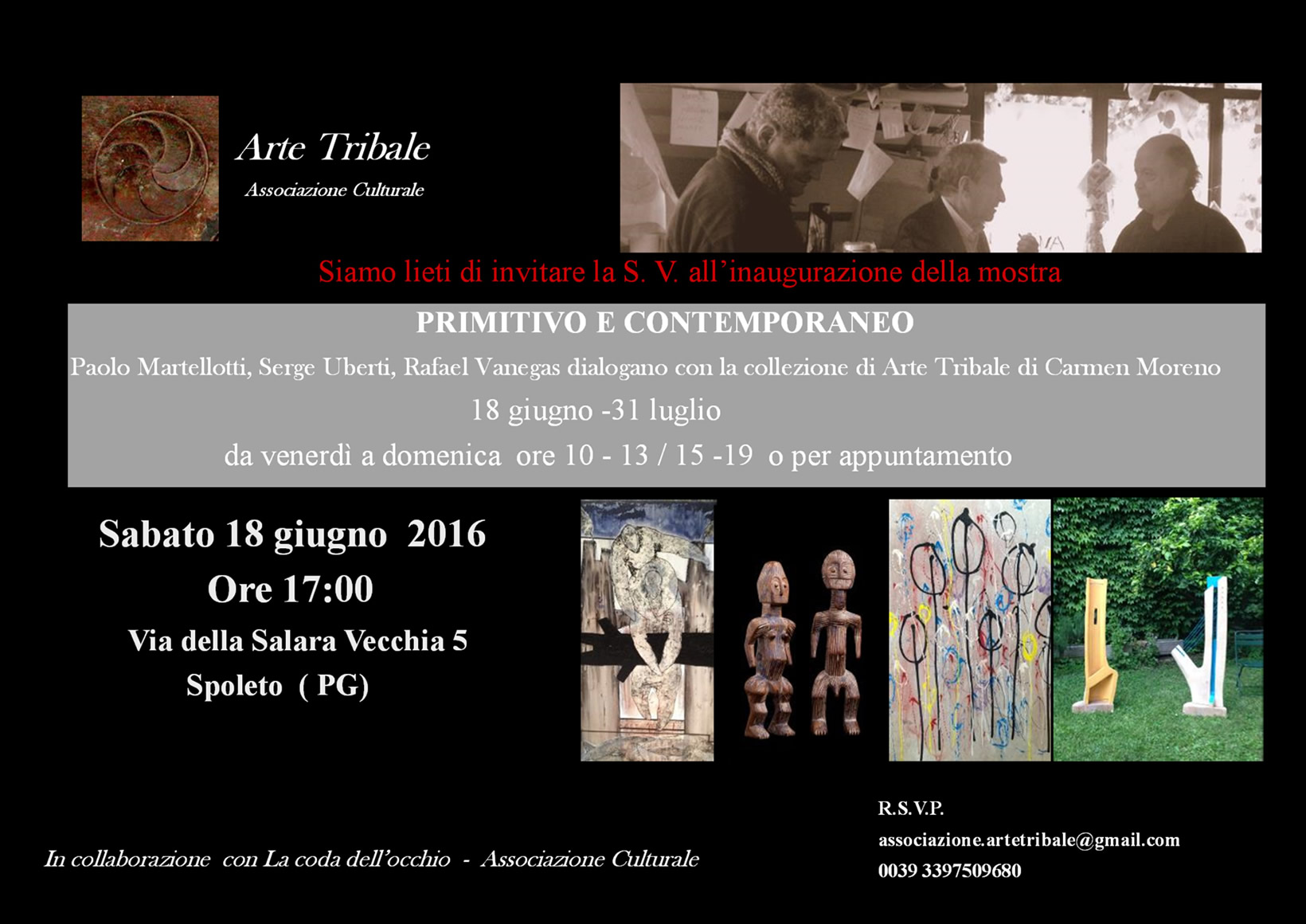 Eventi e Mostre - Arte Tribale Associazione Culturale Carmen Moreno - Spoleto Umbria Italy