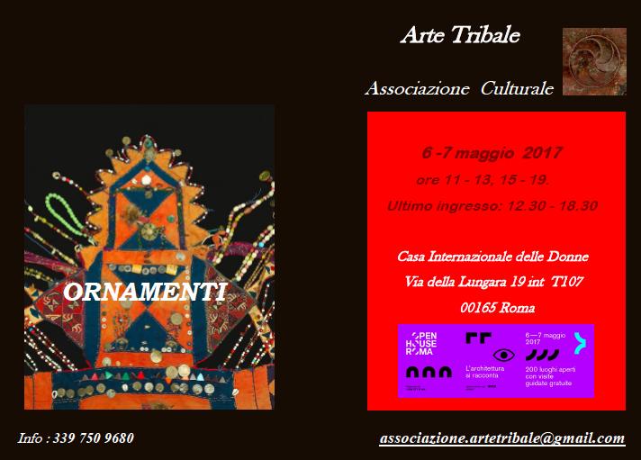 Eventi e Mostre - Ornamenti - Arte Tribale Associazione Culturale - Spoleto Umbria - Italy - Carmen Moreno