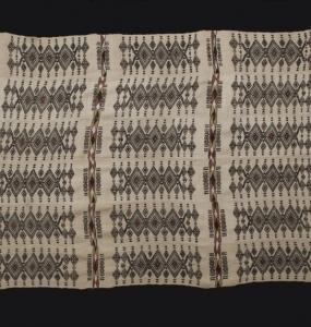 Coperta Peul Mali, lana e cotone H 243 x 125 cm