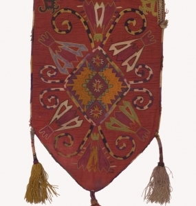 Sacca, Lakai Uzbekistan seta lana e cotone H 61cm
