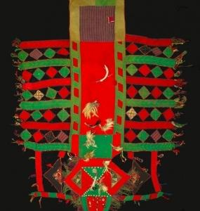 Sella da cammello,Tekke, Turkmenistan H 195cm x 145cm