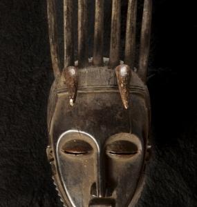 Maschera, Costa d'Avorio, Jaore 37 x 14