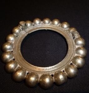 Bracciale in argento, India, Prima metà XX secolo, D cm. 10